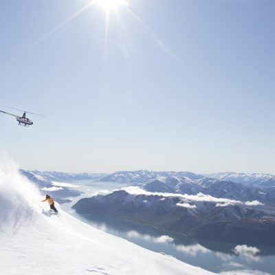 Corporate Incentives - Heli skiing Lake Wanaka