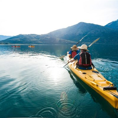 Kayaking with Paddle Wanaka