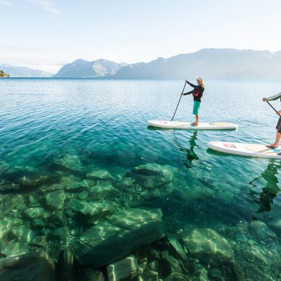 Lake Hawea Stand Up Paddle Boarding